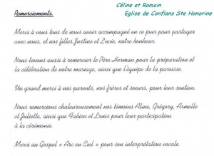 Céline et Romain - Conflans Ste Honorine