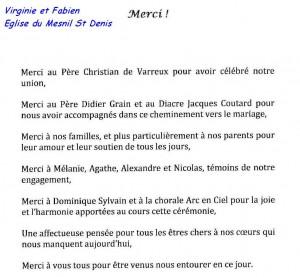 Virgnie et Fabien - 07-07-2012 - Mesnil Saint Denis